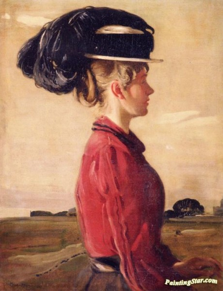 William Nicholson  - Mrs. Stafford of Paradise Row