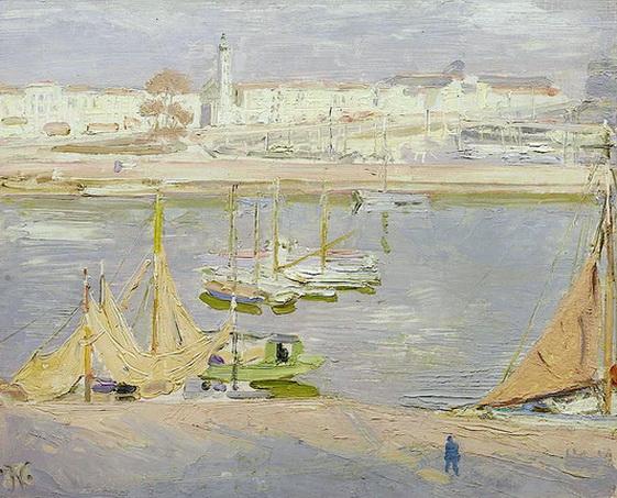 William Nicholson -  La Rochelle, the Harbour