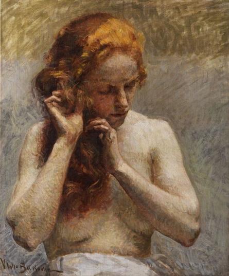 Vlaho Bukovac - Female Nude