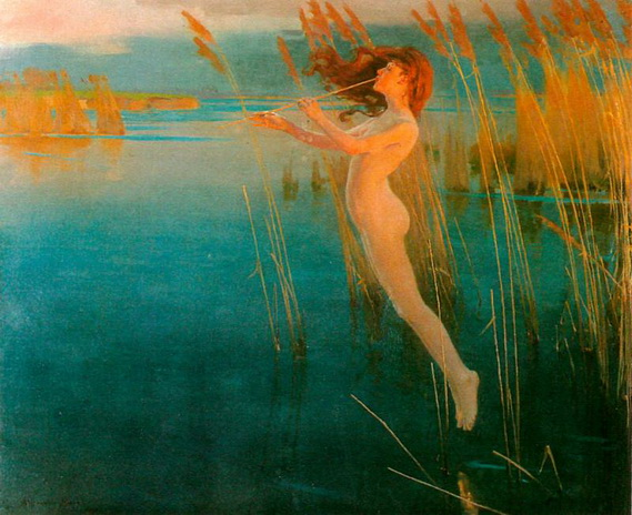 Alexander Mann - The Long Cry of the Reeds at Even