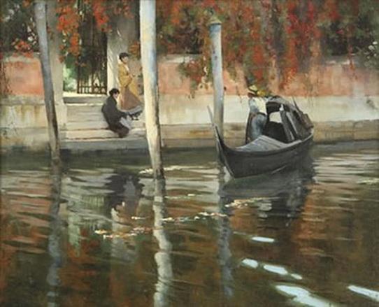 Alexander Mann - A Touch of Autumn