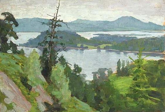 Alexander Mann - Loch Lomond