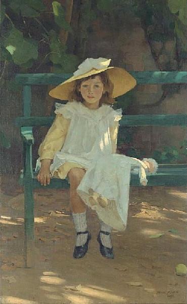 Alexander Mann - Portrait of Mary