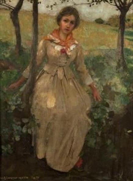 Harrington Mann - A Young Woman