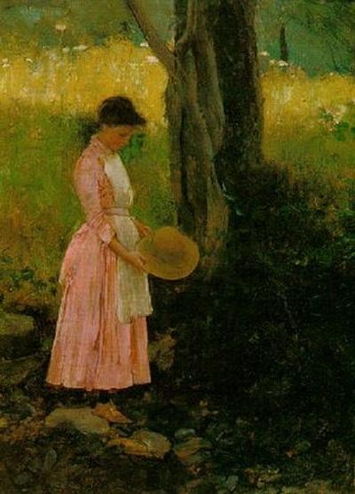 Harrington Mann - In the shade of the tree