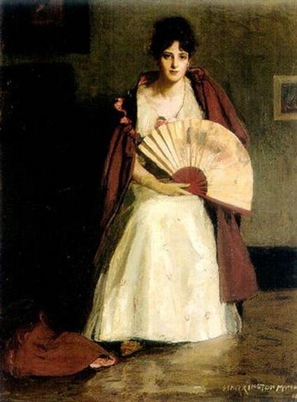 Harrington Mann - Portrait of Dolly