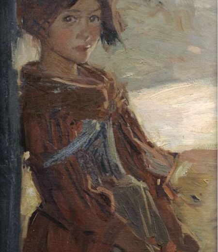 Harrington Mann - Italian Peasant Girl