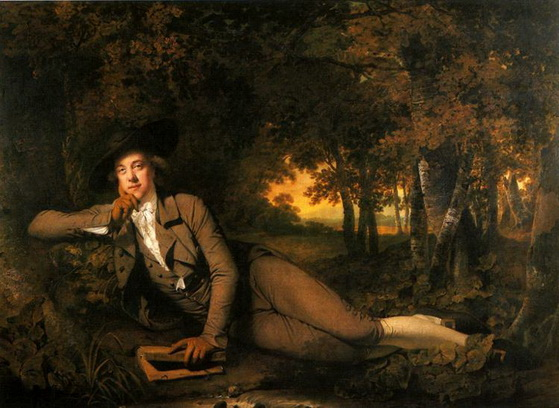 Joseph Wright - Sir Brooke Boothby