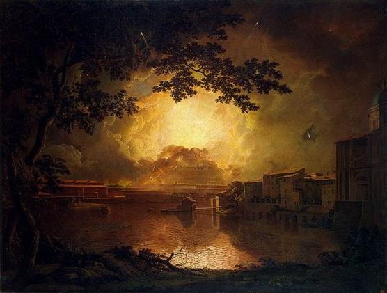 Joseph Wright of Derby - Firework Display
