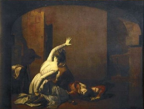 Joseph Wright of Derby - Romeo and Juliet