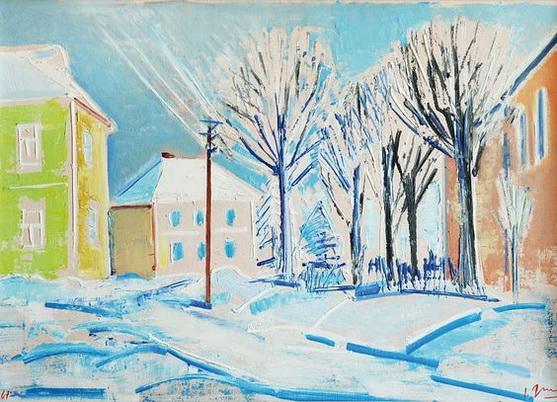 Grus Jaroslav - Winter in Vysoce