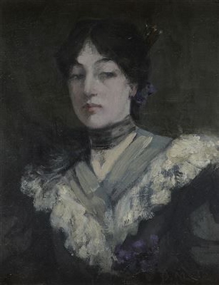 Bessie MacNicol -  Lady in a Lace Collar