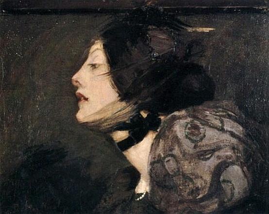 Bessie MacNicol - A French Girl