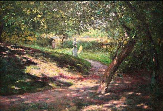 Wladyslaw Podkowinski - W ogrodzie