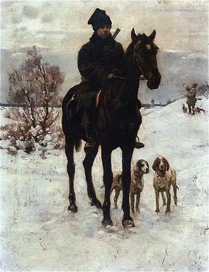 Wladyslaw Podkowinski - Hunt
