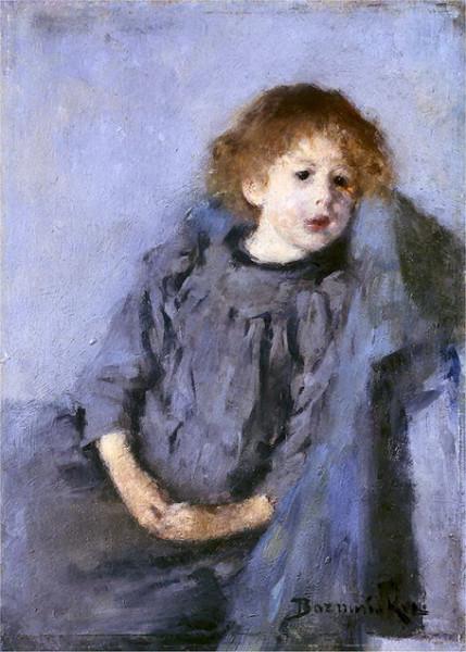 Olga Boznanska - Portrait of a Girl