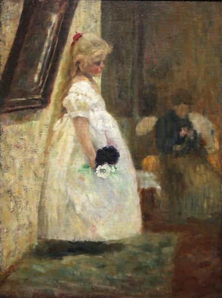 Olga Boznanska  - Imieniny babuni