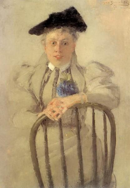 Olga Boznanska - Portret Ireny Serdy
