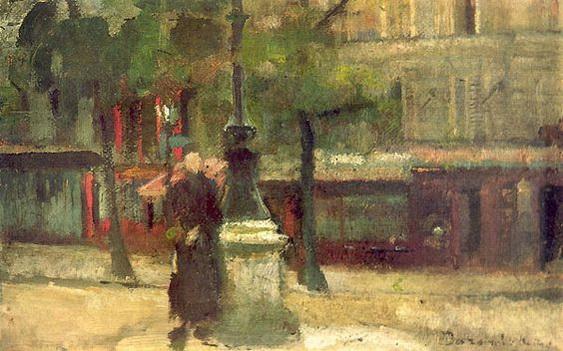 Olga Boznanska - Parisian street