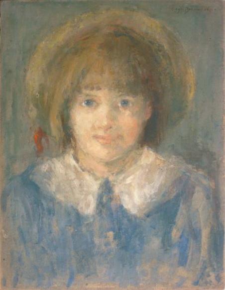 Olga Boznanska- Portret dziewczynki
