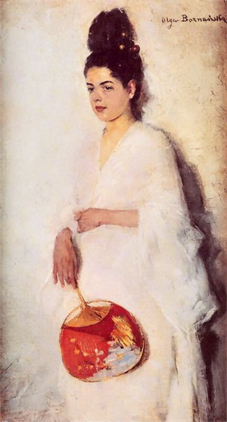 Olga Boznanska - The Japanese