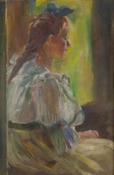 Olga Boznanska - Dziewczynka przy oknie