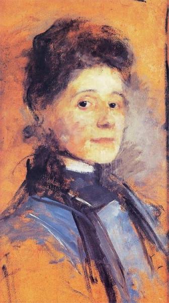 Olga Boznanska - Autoportret