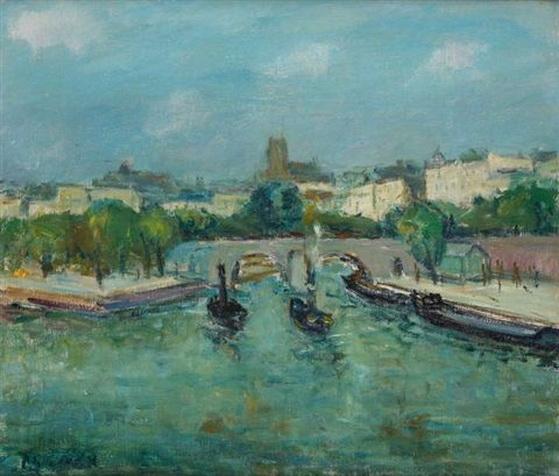 Philibert Cockx - emorqueurs sur la Seine