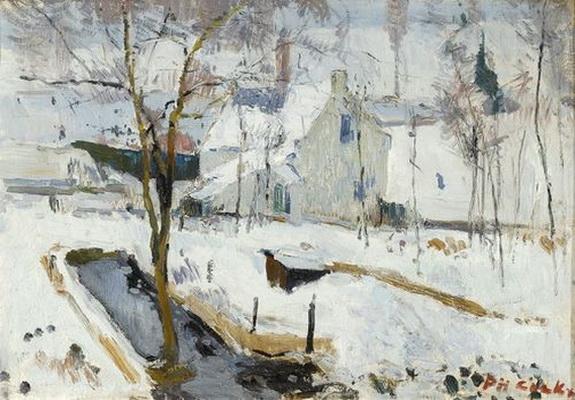 Philibert Cockx - Snow in Auderghem