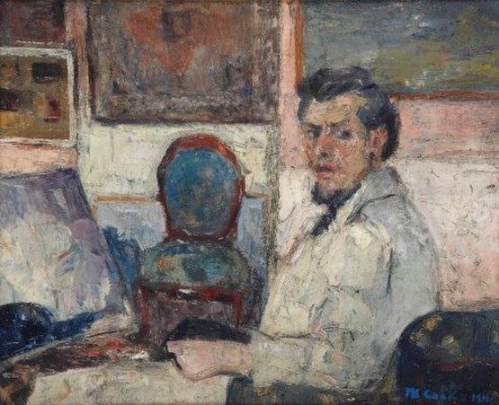 Philibert Cockx - Self portrait