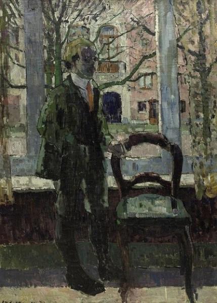 Philibert Cockx - In Front of the Window