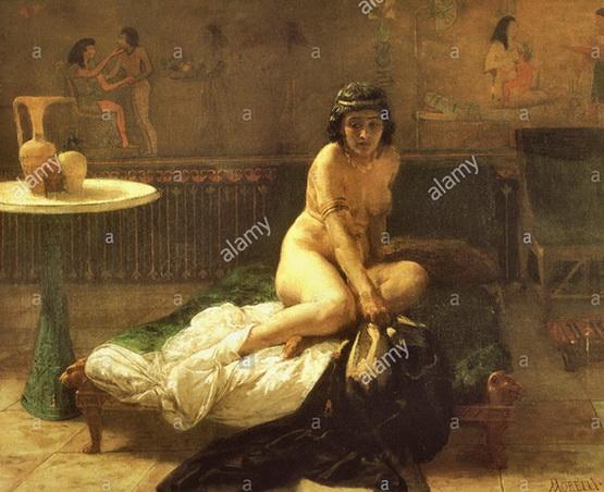 Domenico Morelli - Potiphar's Wife