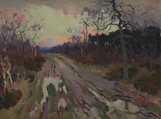 Henri Roidot - Le chemin creux