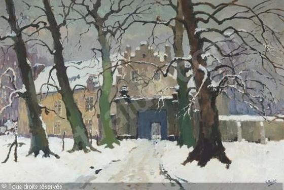 Henri Roidot -  Le vieux chateau