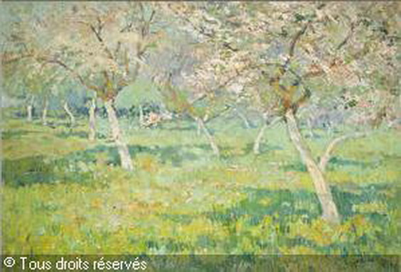 Henri Roidot - Flowering orchard