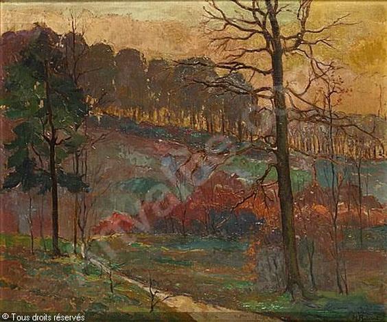 Henri Roidot - Paysage vendu par Campo