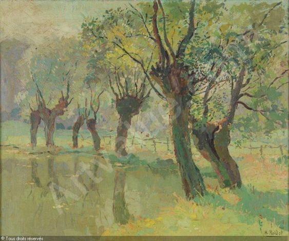 Henri Roidot - Un coin a la mare a Saint Eloi