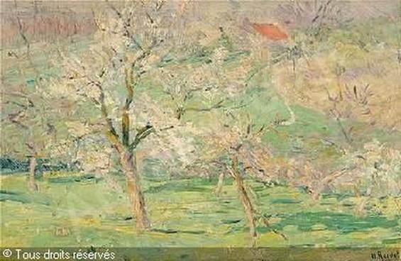 Henri Roidot - Verger en fleurs vendu