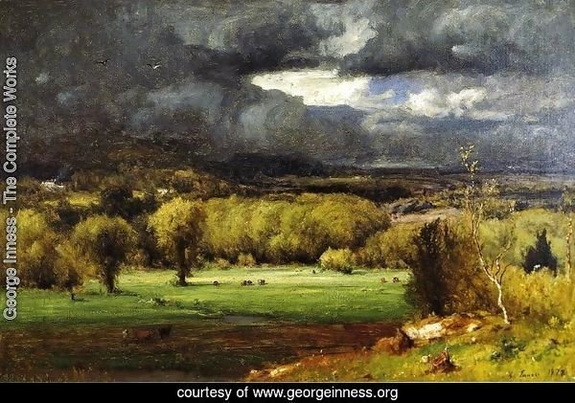 George Inness - The Coming Storm