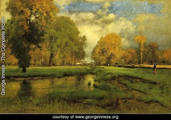 George Inness - October