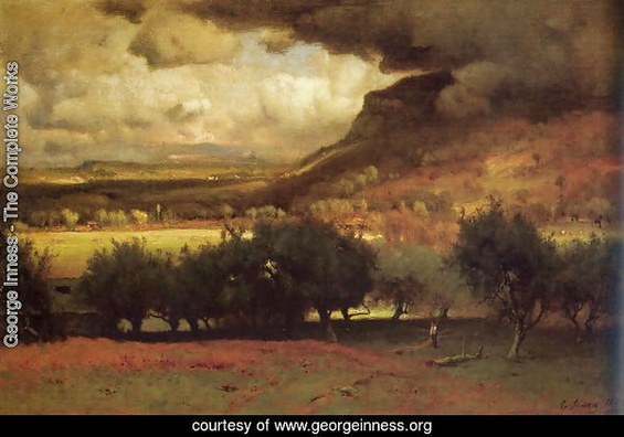 George Inness - The Coming Storm 2