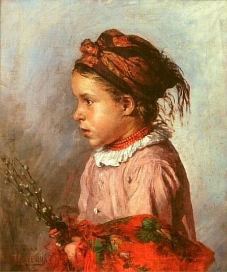 Ludwik de Laveaux -  Dziewczynka z baziami