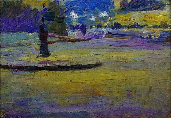 Ludwik de Laveaux -   Paris at Night