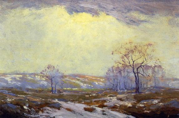 Julian Onderdonk  - Lingering Snow