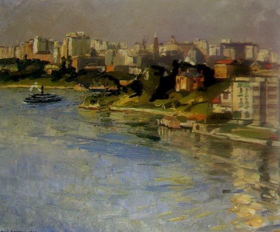 John William Ashton - Sydney from Kirribilli