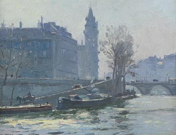 John William Ashton - Palais De Justice, Paris