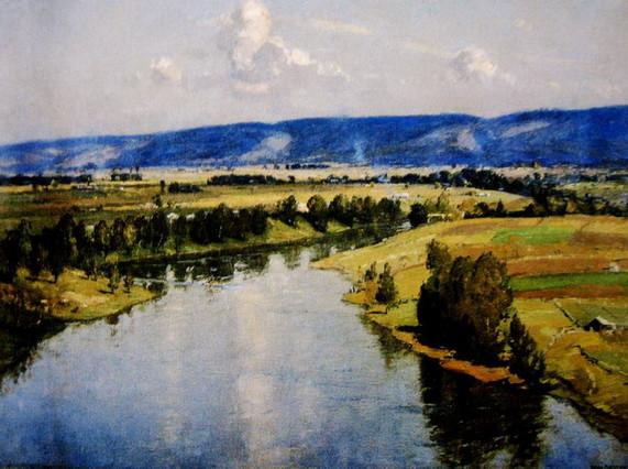 John William Ashton - The Hawkesbury River