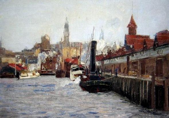 John William Ashton - Circular Quay