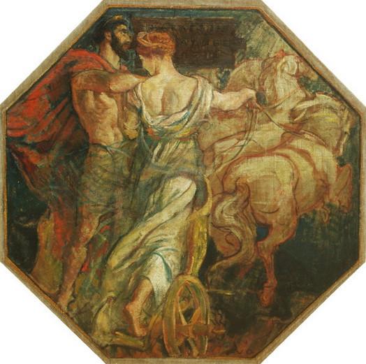 Violet Oakley - Apotheosis of Hercules