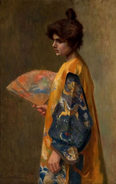 Violet Oakley - Le Japonisme